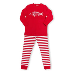 Long Sleeve Redfish Sleepwear