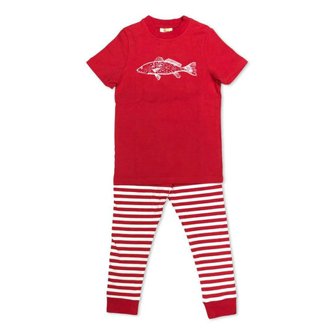Short Sleeve Redfish Sleepwear