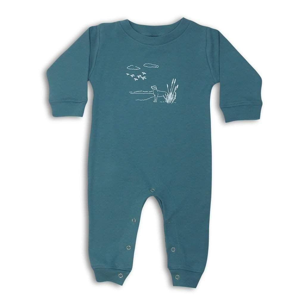 Duck Season Long Sleeve Infant Romper - Honey Bee Tees