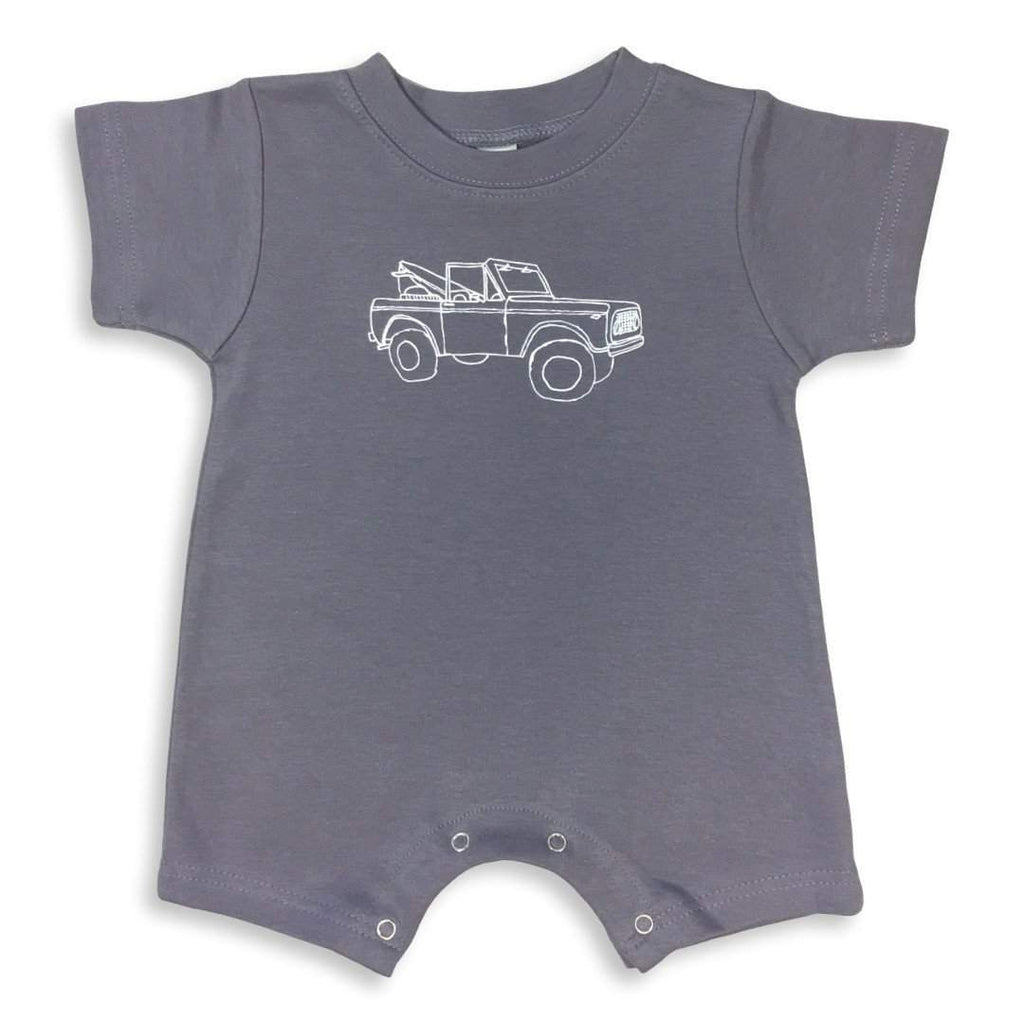 Romper - Off To The Bay Short Sleeve Infant Romper