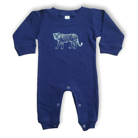 Tiger Long Sleeve Infant Romper