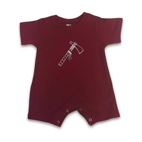 Tomahawk Short Sleeve Infant Romper