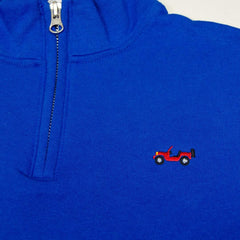 Off Road 1/4 Zip Sweatshirt