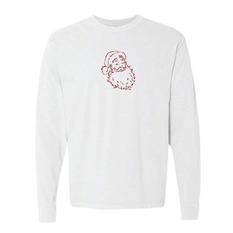 Santa Claus Adult Long Sleeve Tee