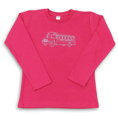 School Bus Long Sleeve Tee