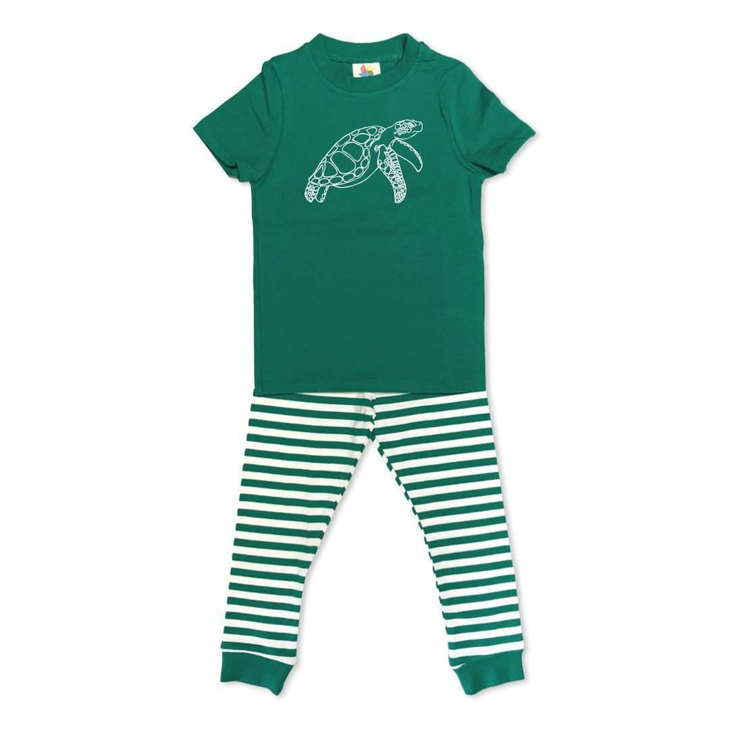 Short Sleeve Sea Turtle Sleepwear