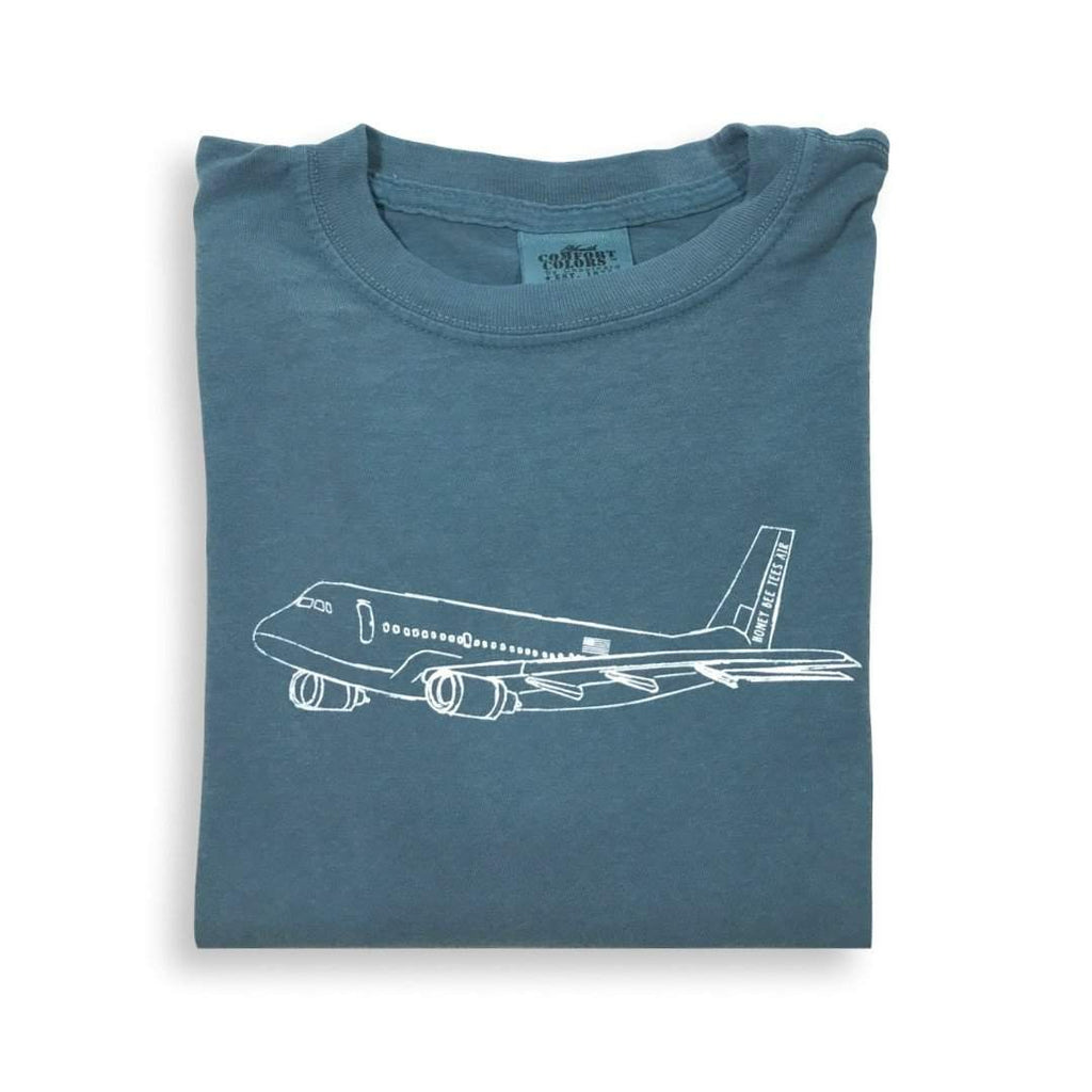 Airplane Long Sleeve Tee - Honey Bee Tees - 1