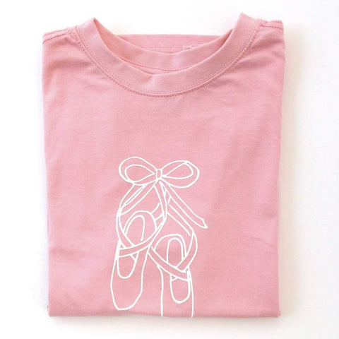 Ballet Slippers Short Sleeve Tee