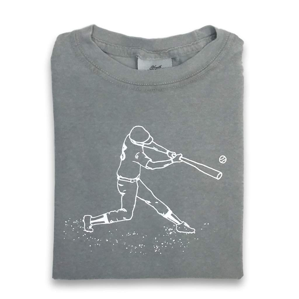 Baseball Player Short Sleeve Tee - Honey Bee Tees - 1