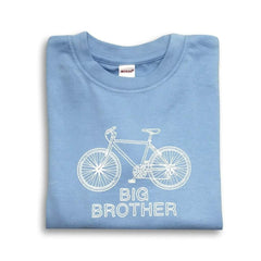 Big Brother Bicycle Long Sleeve Tee - Honey Bee Tees - 1