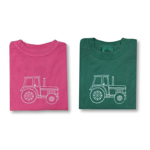 Big Green Tractor Long Sleeve Tee