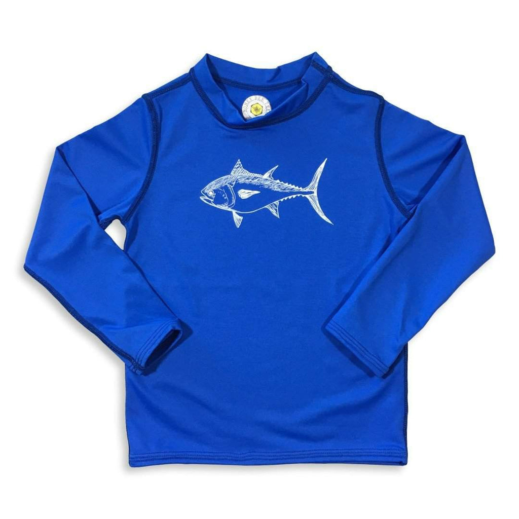 Shirts - Bluefin Tuna Long Sleeve Rash Guard UPF 50+