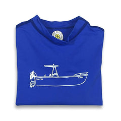 Boat Ride Long Sleeve Rash Guard UPF 50+ - Honey Bee Tees - 3