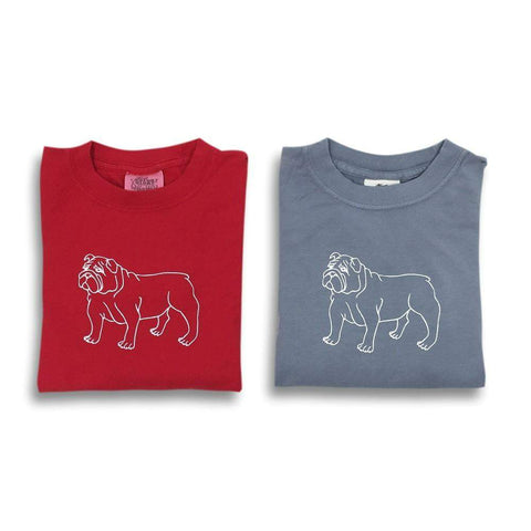 Bulldog Long Sleeve Tee