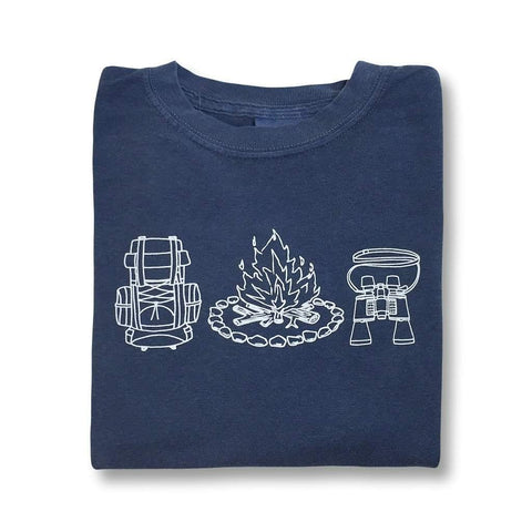 Camping Gear Long Sleeve Tee