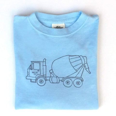 Cement Mixer Long Sleeve Tee