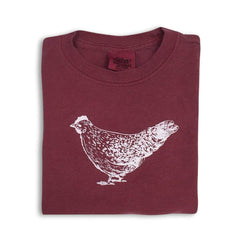 Chicken Short Sleeve Tee - Honey Bee Tees - 1