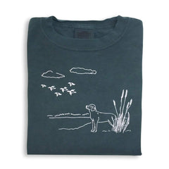 Duck Season Long Sleeve Tee - Honey Bee Tees - 1