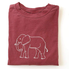 Elephant Long Sleeve Tee - Honey Bee Tees - 1