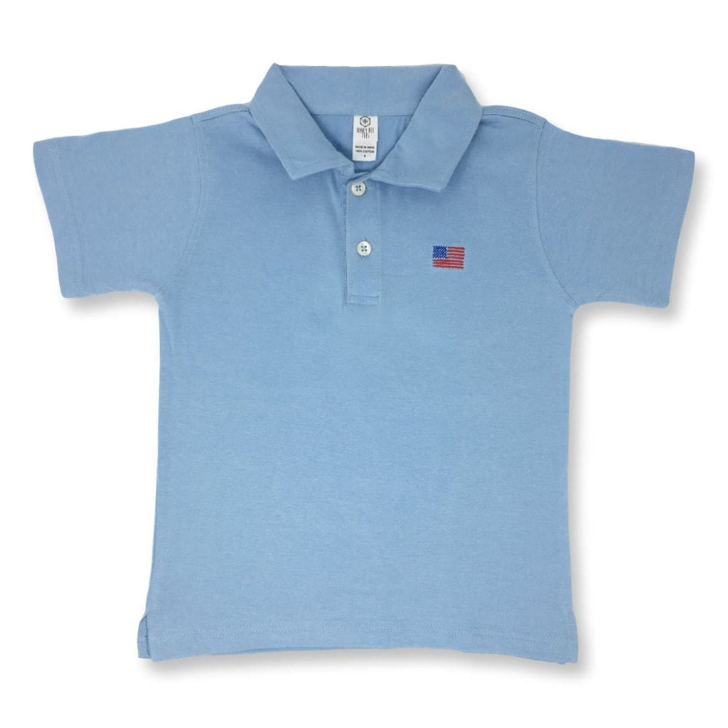 Shirts - Flag Polo Tee
