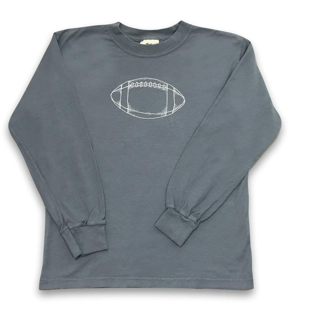 Football Long Sleeve Tee - Honey Bee Tees - 3