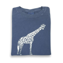 Giraffe Short Sleeve Tee - Honey Bee Tees - 1