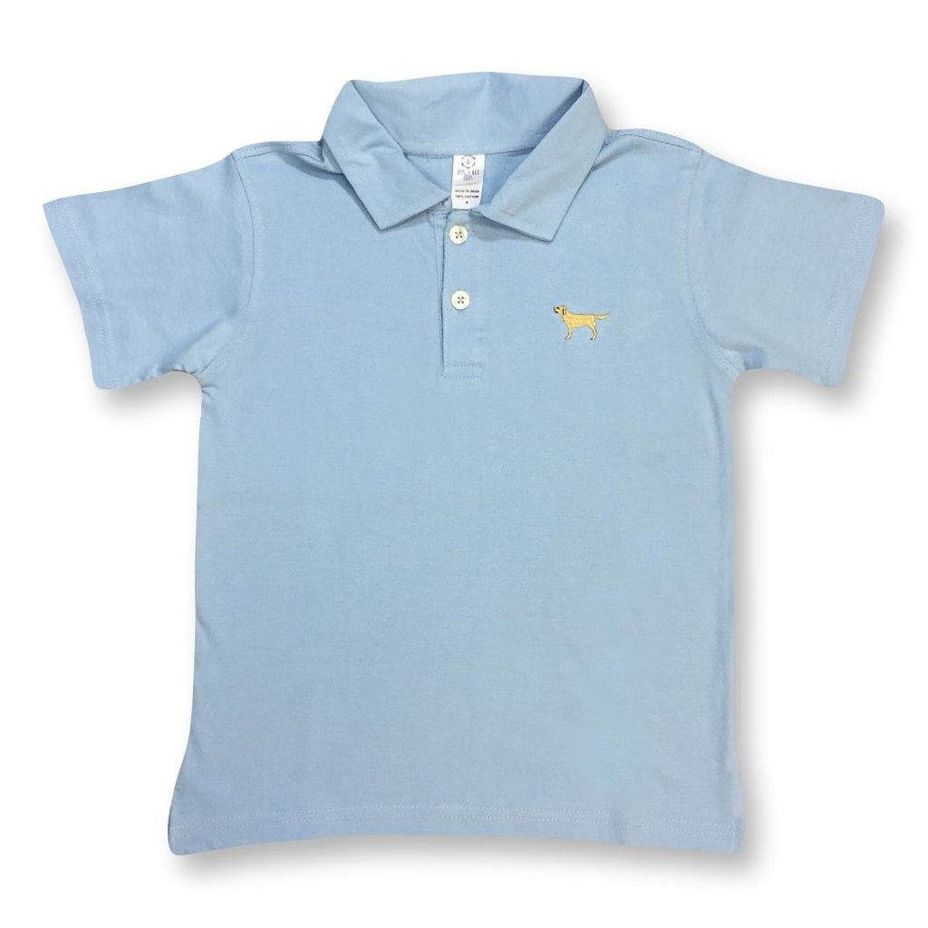 Shirts - Golden Retriever Polo Tee