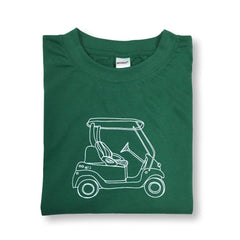 Golf Cart Short Sleeve Tee - Honey Bee Tees - 1
