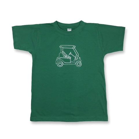Golf Cart Short Sleeve Tee