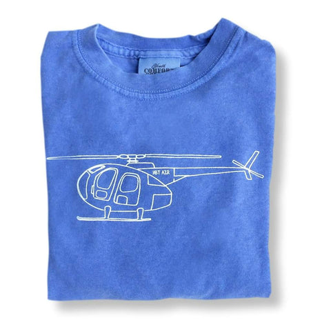 Helicopter Short Sleeve Tee