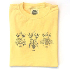 Honey Bees Long Sleeve Tee - Honey Bee Tees - 1