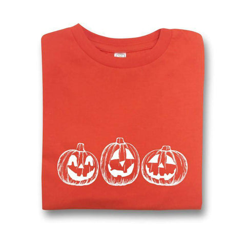 Jack-o-lantern Infant Short Sleeve Tee