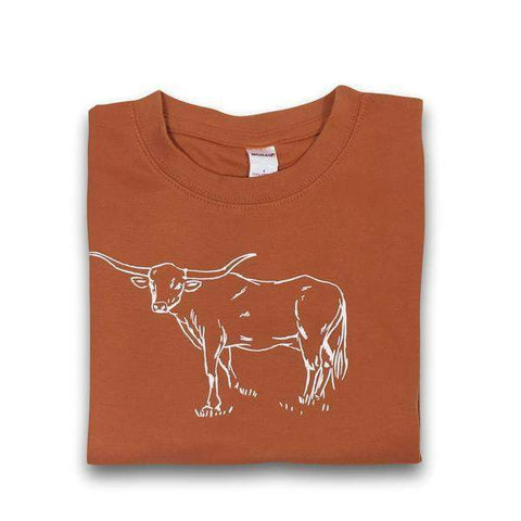 Longhorn Long Sleeve Tee