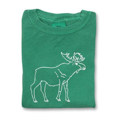 Moose Short Sleeve Tee - Honey Bee Tees - 1