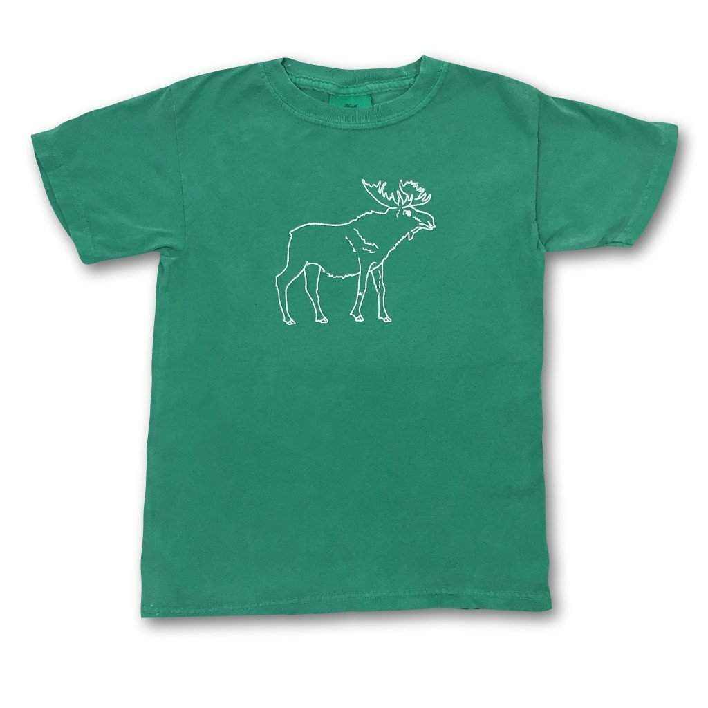 Moose Short Sleeve Tee - Honey Bee Tees - 2