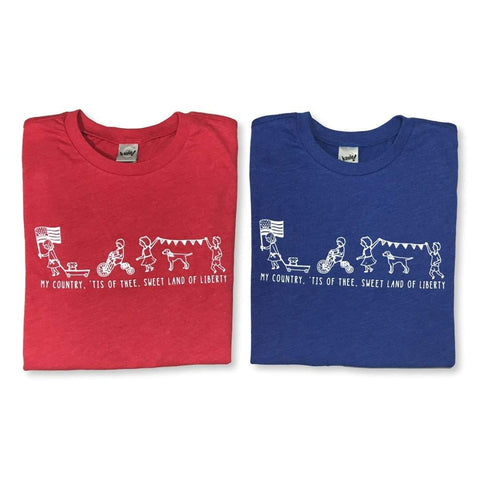 Patriotic Parade Short Sleeve Tee