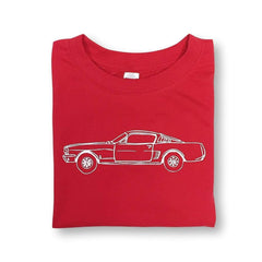 Race Car Short Sleeve Tee - Honey Bee Tees - 1