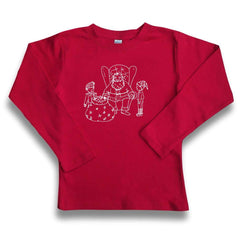 Santa and Elves Long Sleeve Tee - Honey Bee Tees - 5