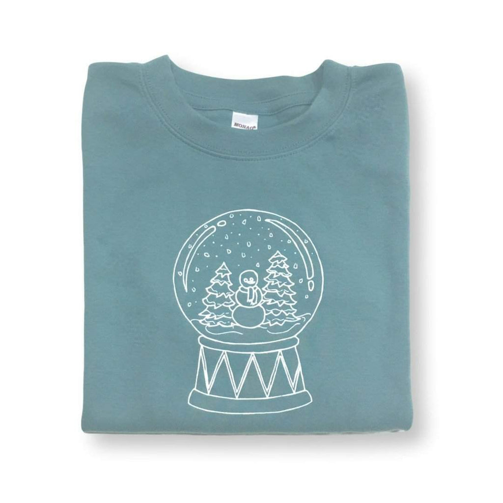 Snow Globe Long Sleeve Tee - Honey Bee Tees - 1