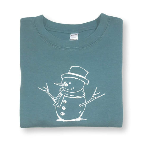 Snowman Long Sleeve Tee