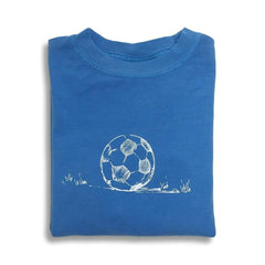Soccer Ball Long Sleeve Tee - Honey Bee Tees - 5