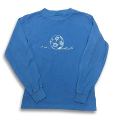 Soccer Ball Long Sleeve Tee - Honey Bee Tees - 4