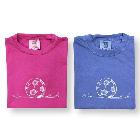 Soccer Ball Short Sleeve Tee