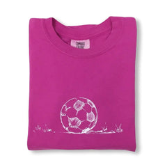 Soccer Ball Short Sleeve Tee - Honey Bee Tees - 1