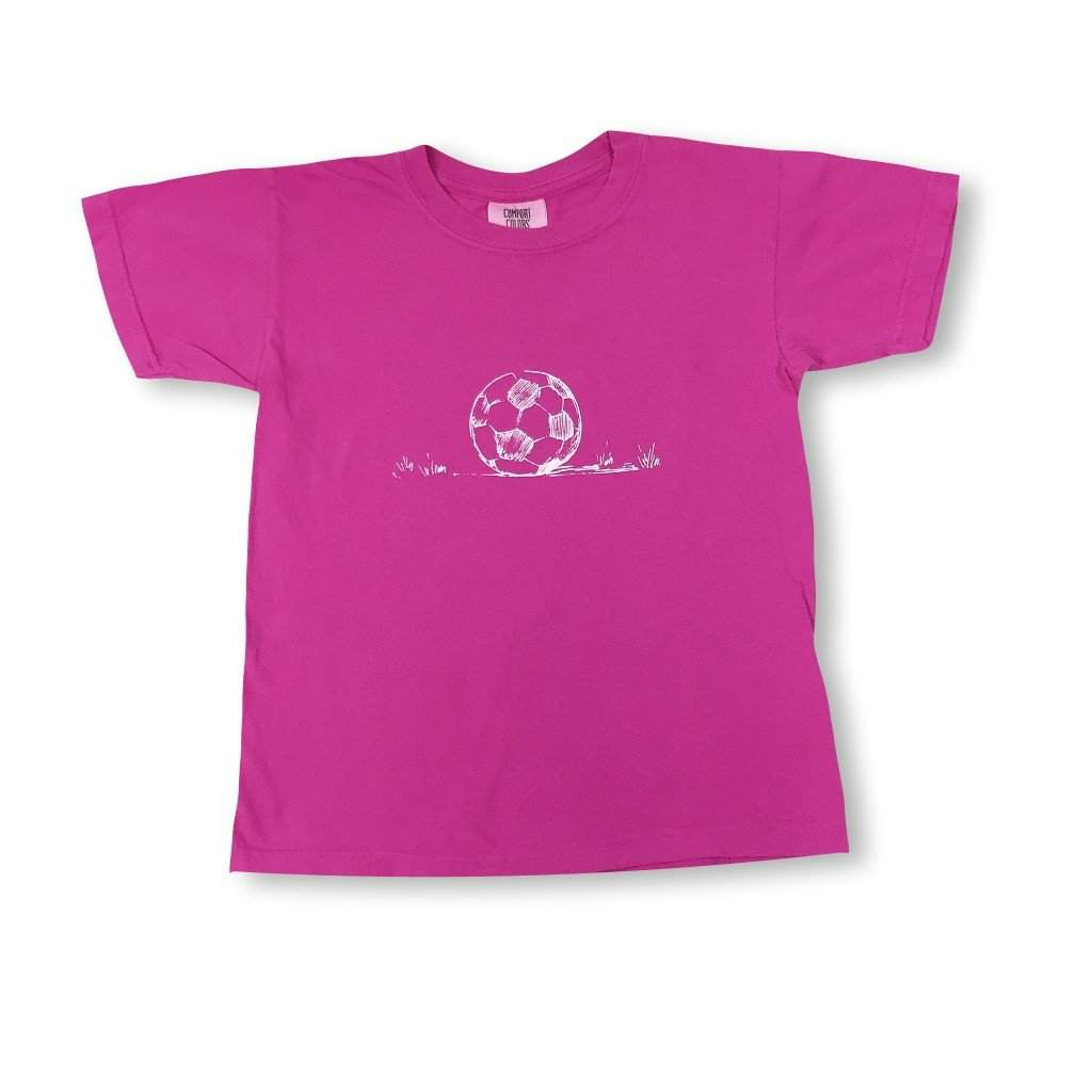 Soccer Ball Short Sleeve Tee - Honey Bee Tees - 2