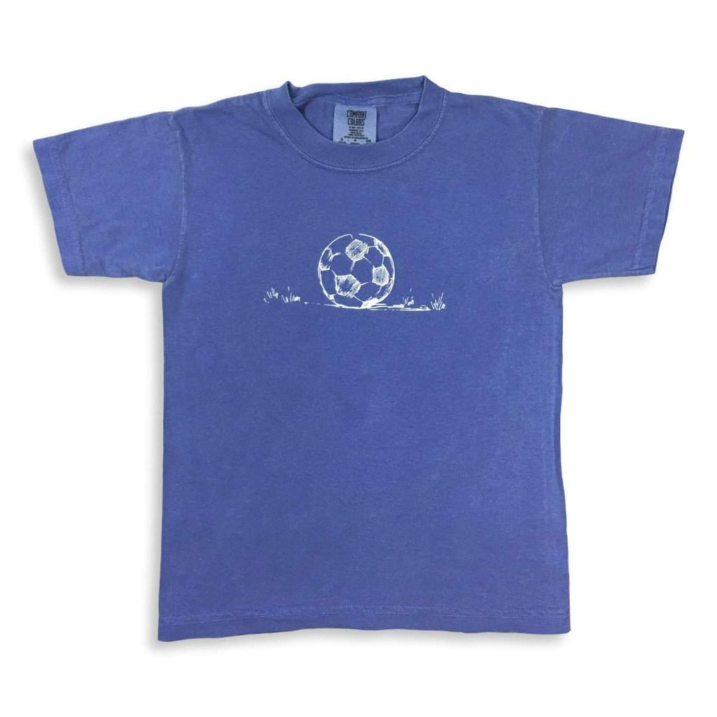 Shirts - Soccer Ball Short Sleeve Tee