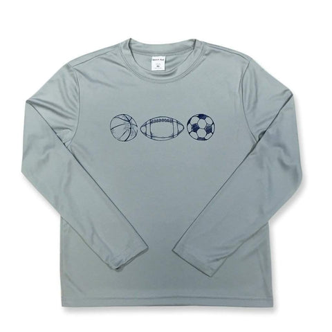 Sports Long Sleeve Performance Tee