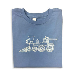 Shirts - Steam Engine Short Sleeve Tee
