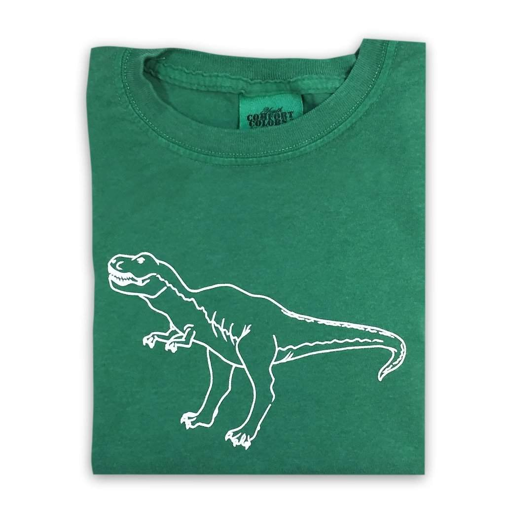 T-Rex Short Sleeve Tee - Honey Bee Tees - 1