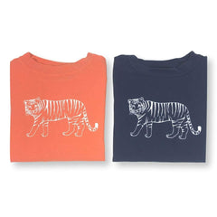 Tiger Long Sleeve Tee - Honey Bee Tees - 1